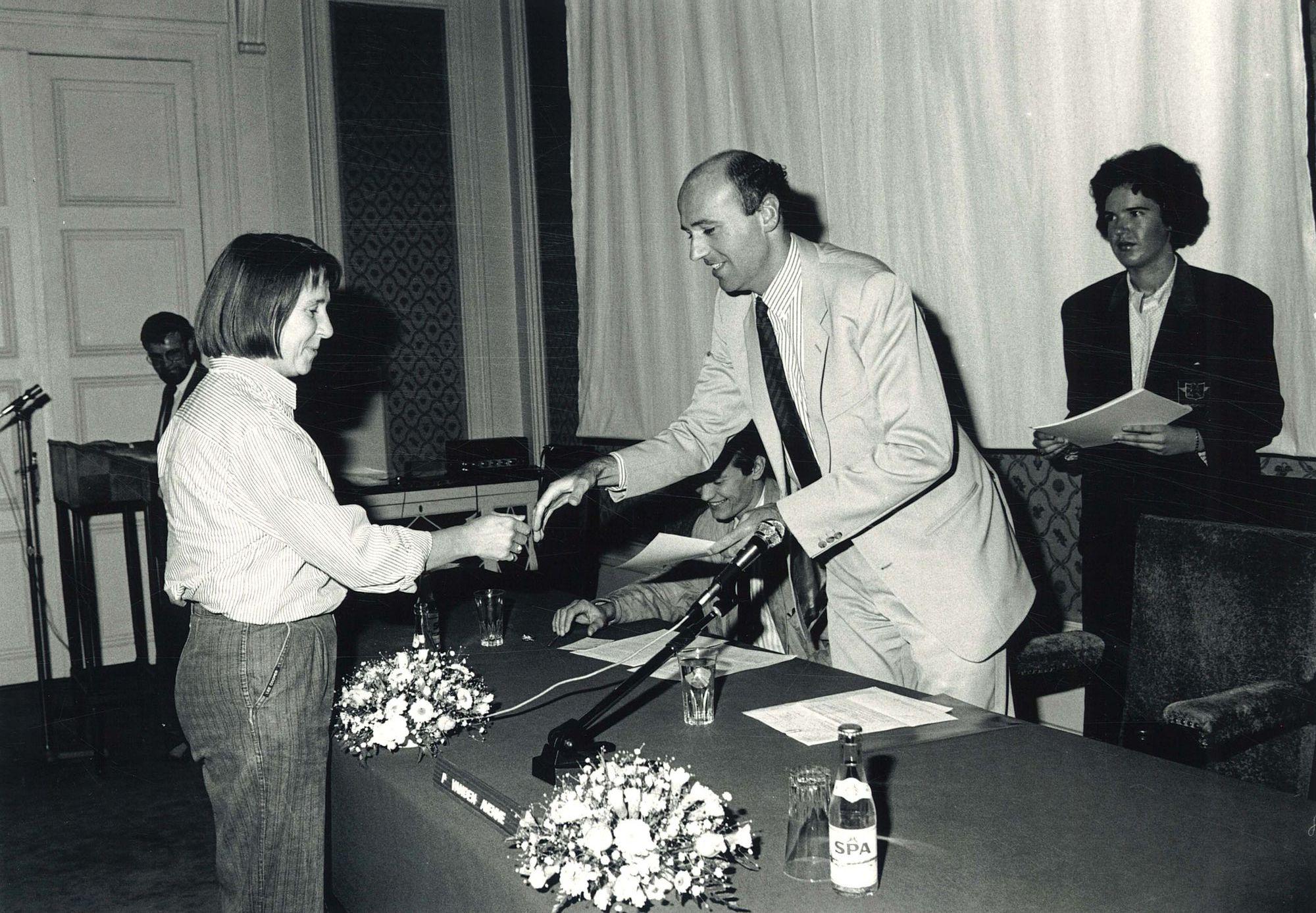 Diploma-uitreiking PvO 1987