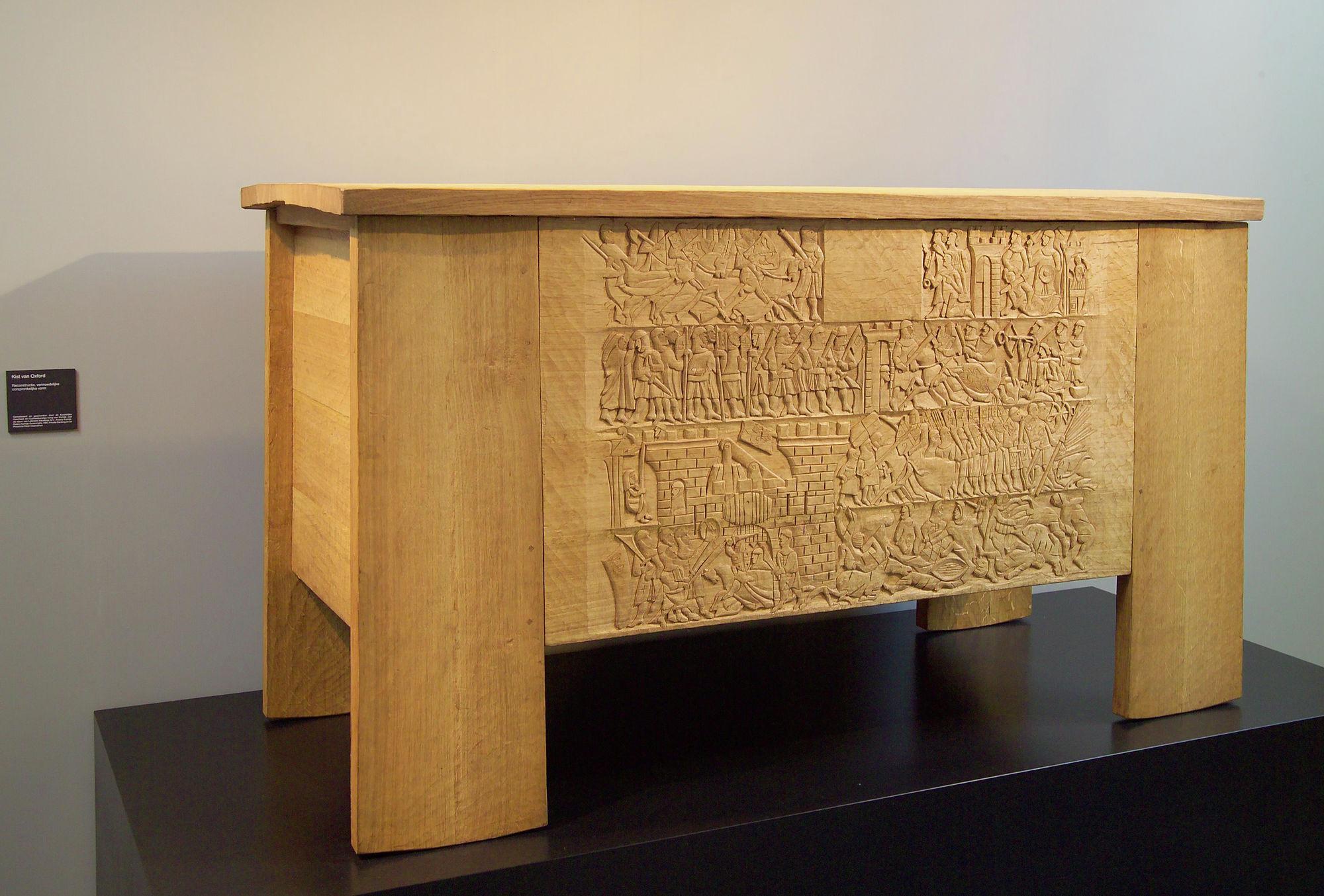 Kortrijk 1302 - Koffer van Oxford (replica)