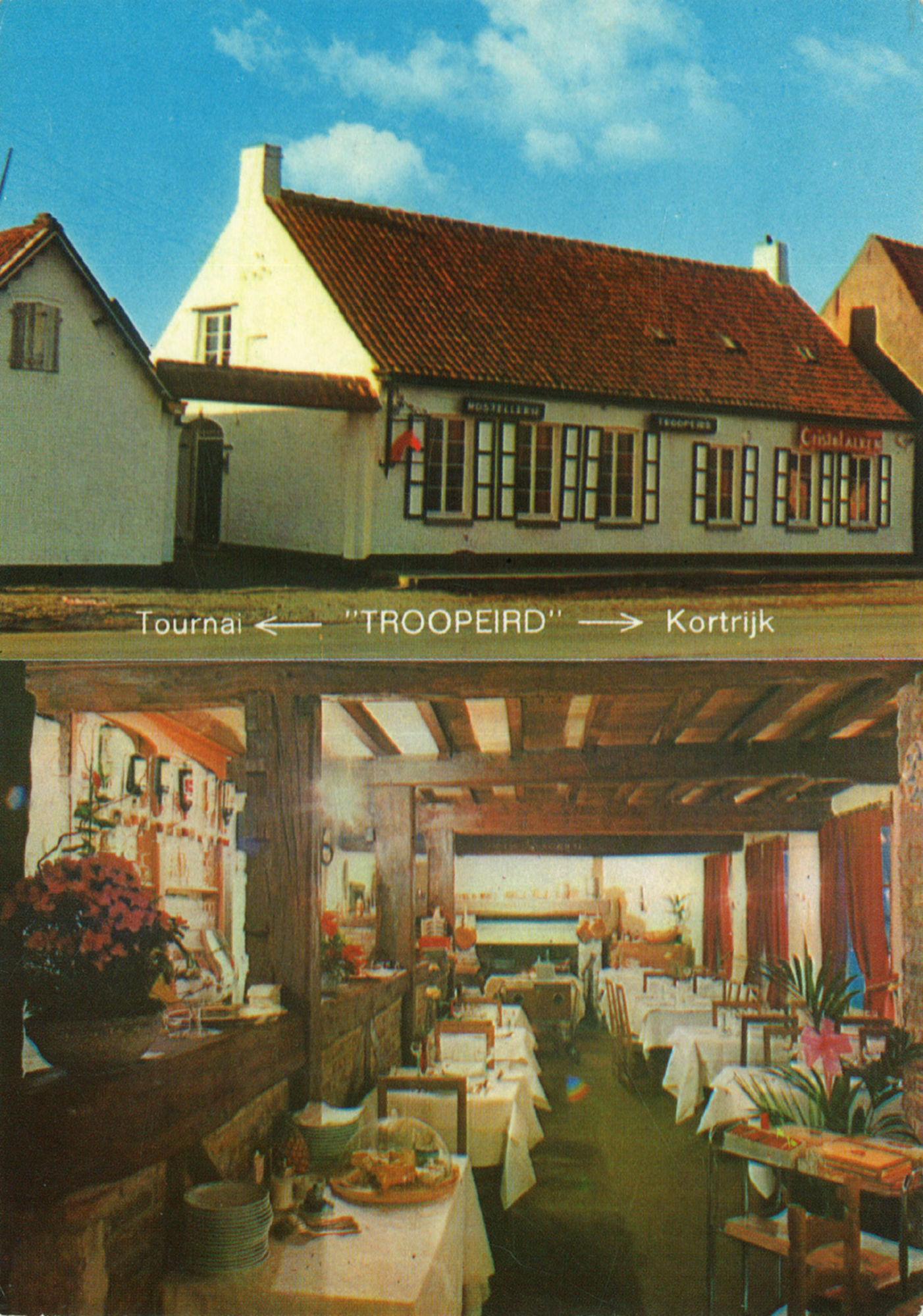 Restaurant Hostellerie Troopeird in Bellegem