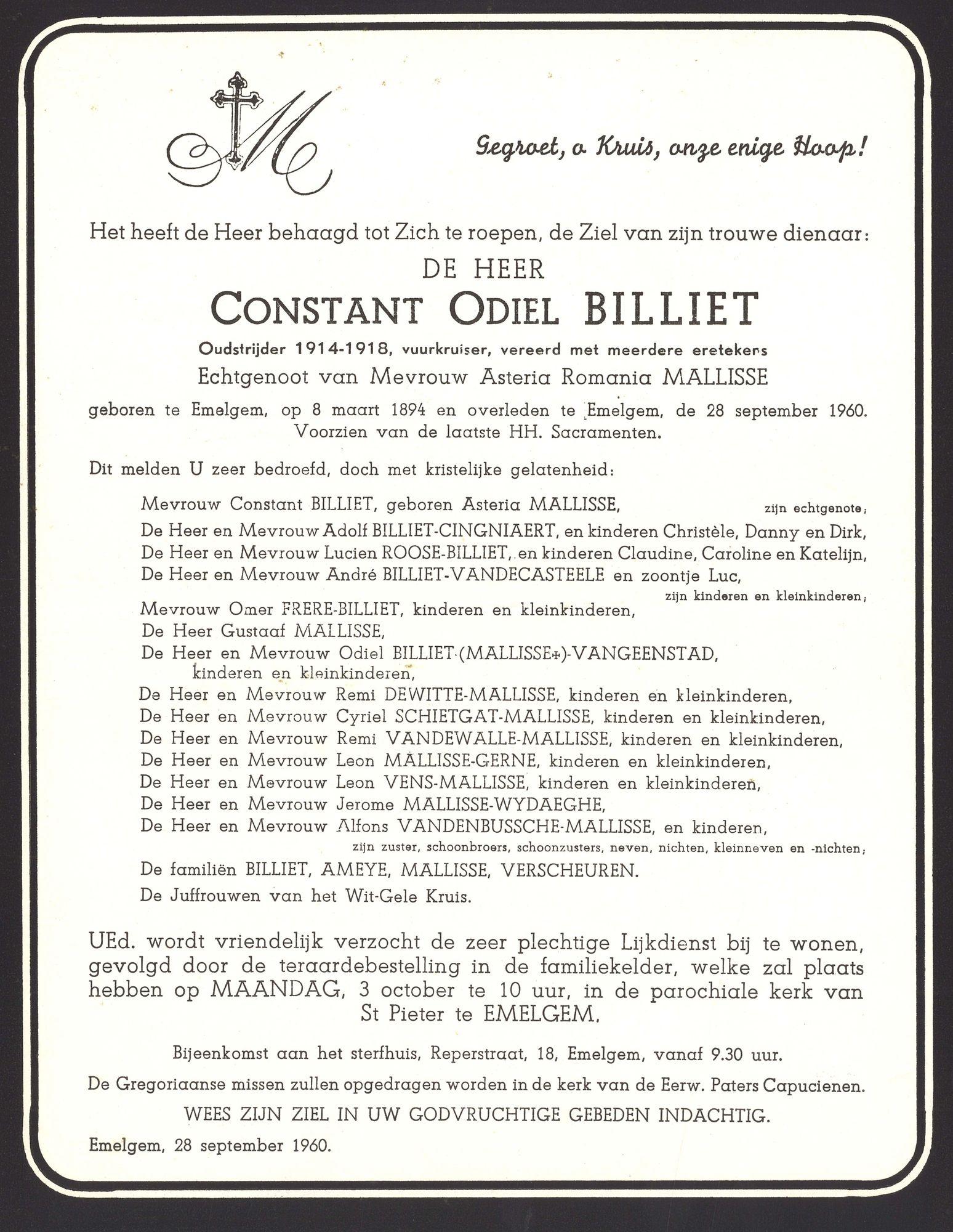 Billiet Constant Odiel