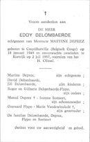 Eddy Delombaerde