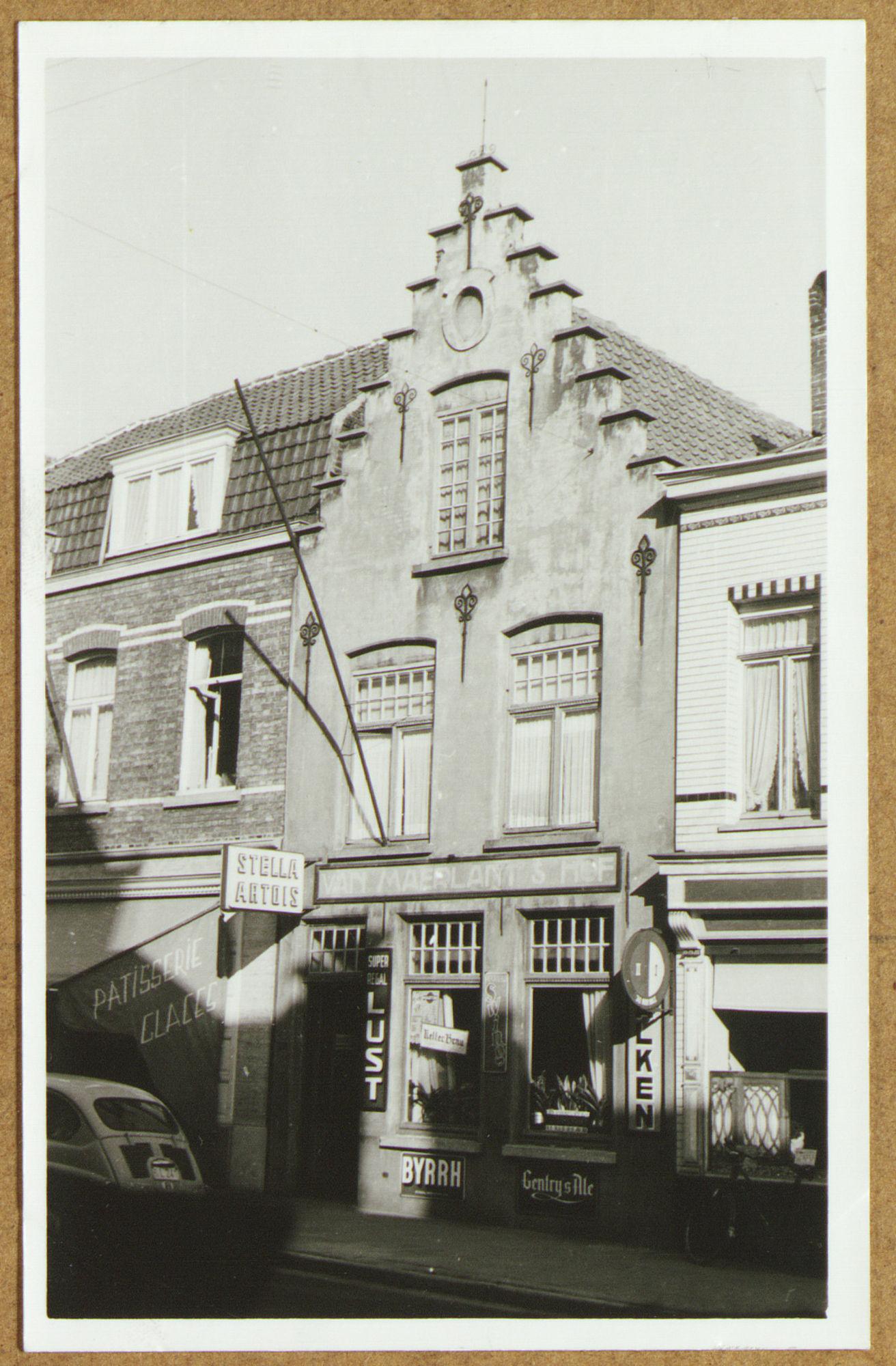 Café Van Maerlant's Hof (Vagant) in de Voorstraat