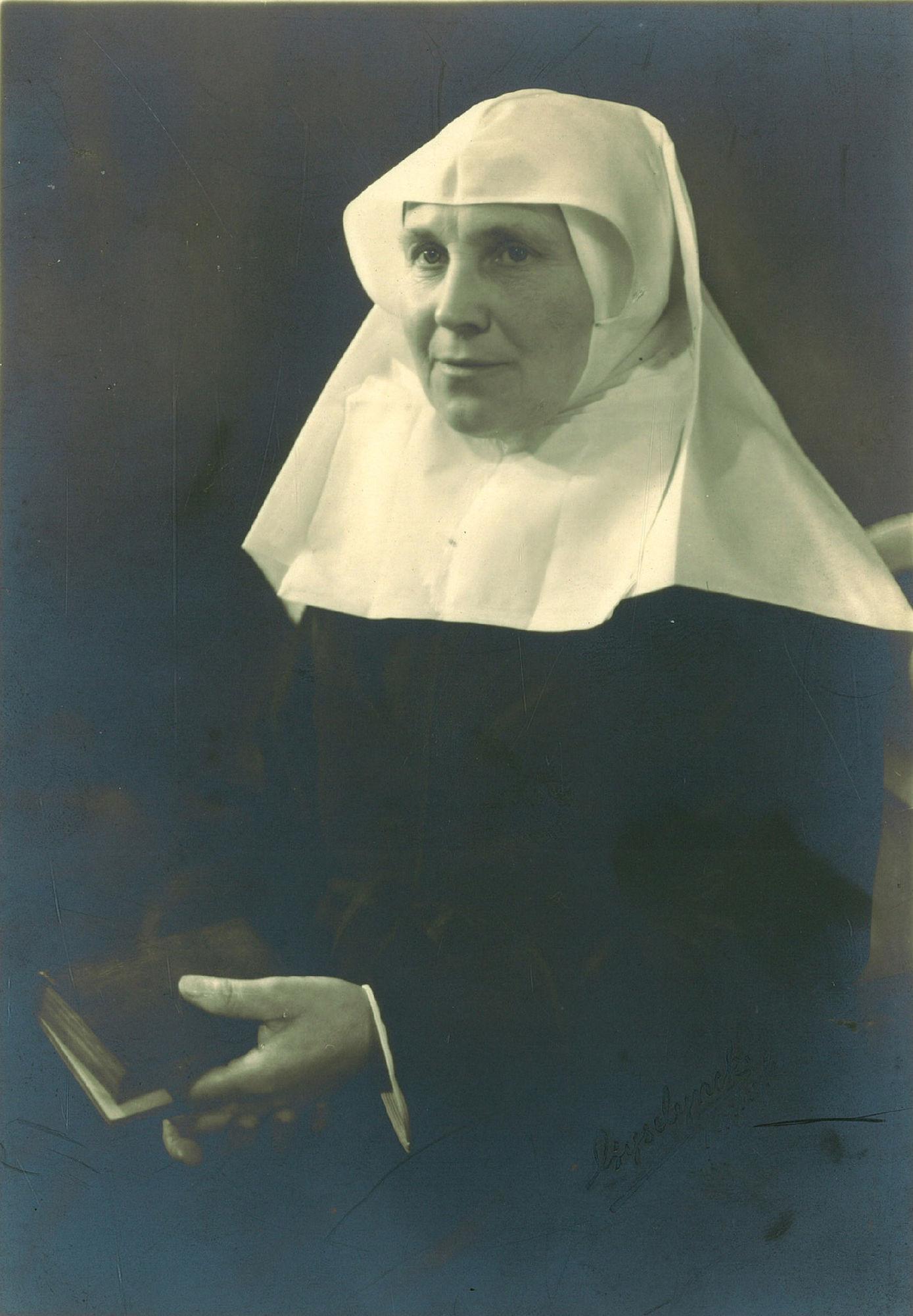 Grootjuffrouw Céline Deconinck van het begijnhof