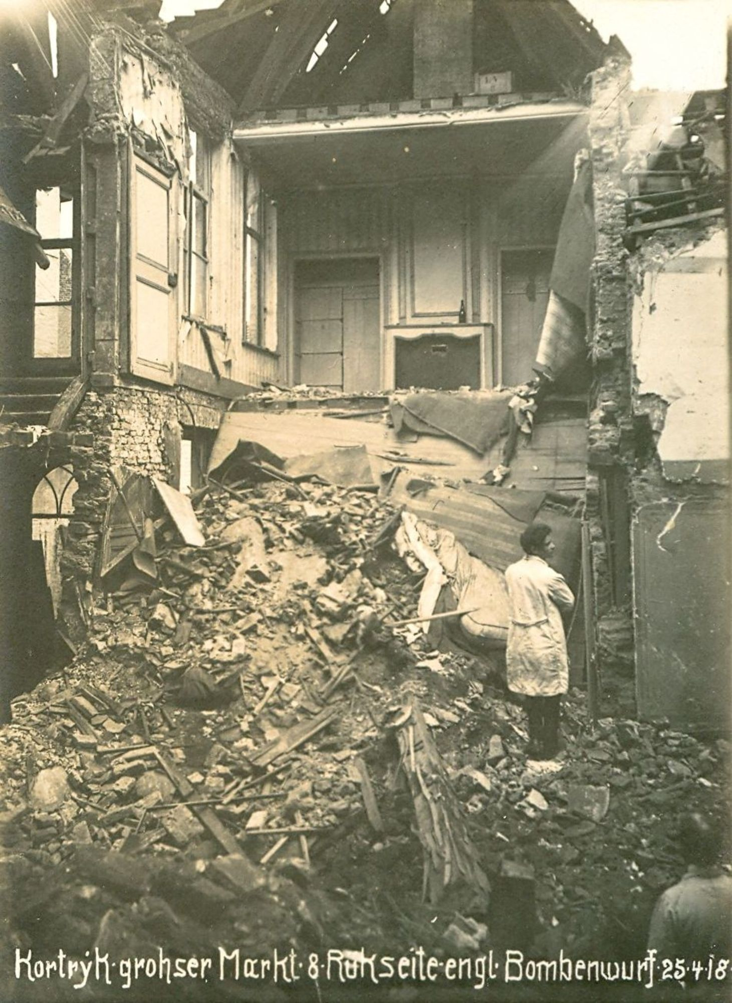 Grote Markt in 1918