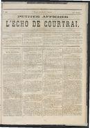 L'echo De Courtrai 1875-07-22