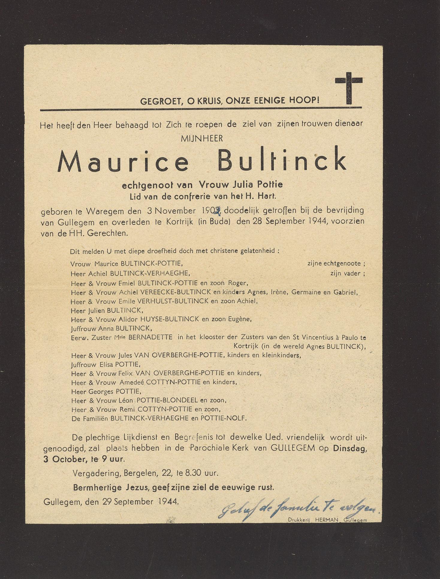 Maurice Bultinck