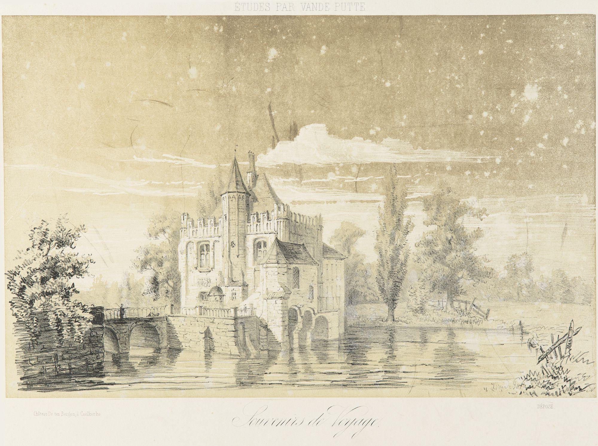 Westflandrica - Koolkerke, kasteel Ten Berge