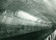 Tunnel (Souterrain) op het Kanaal Bossuit-Kortrijk in Moen 1970