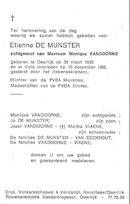 Etienne De Munster