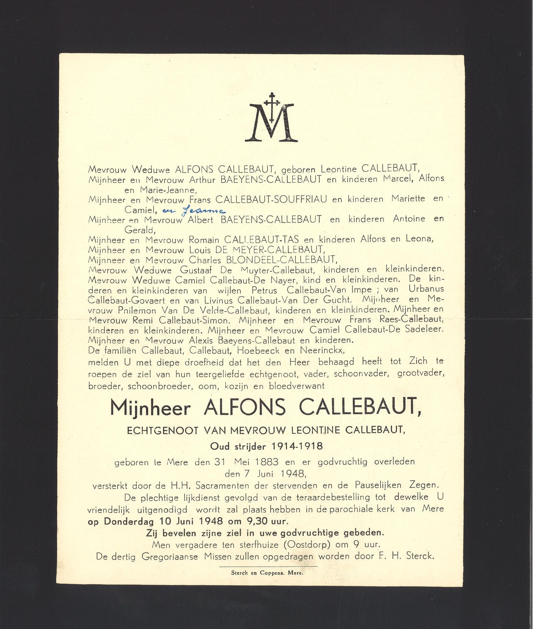Callebaut Alfons