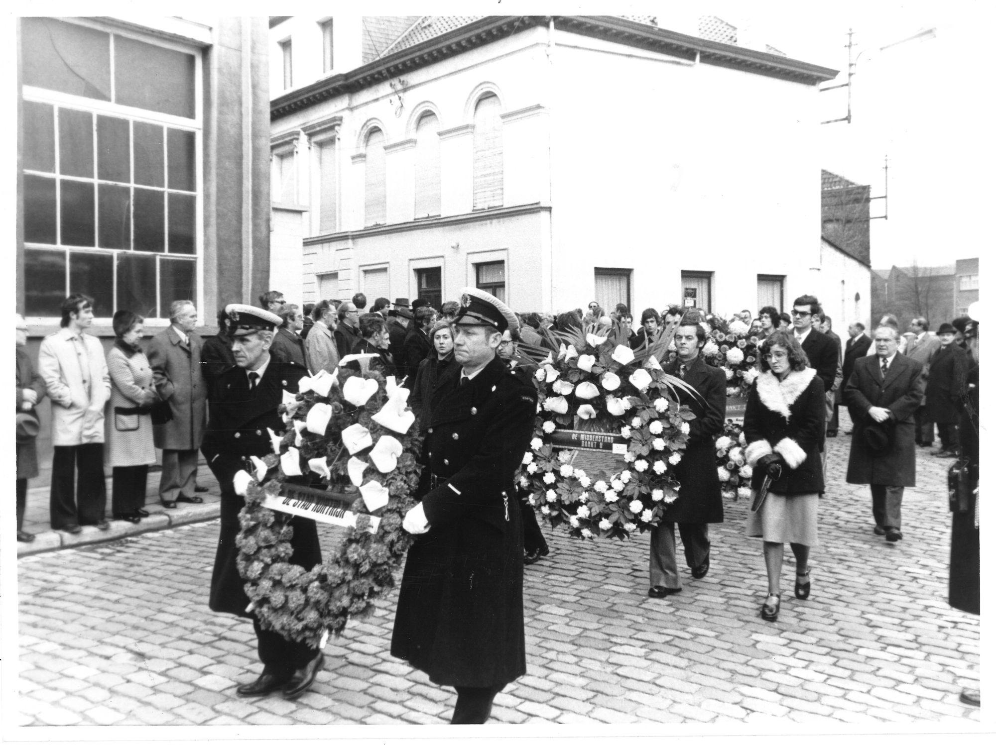 Begrafenis minister Albert De Clerck