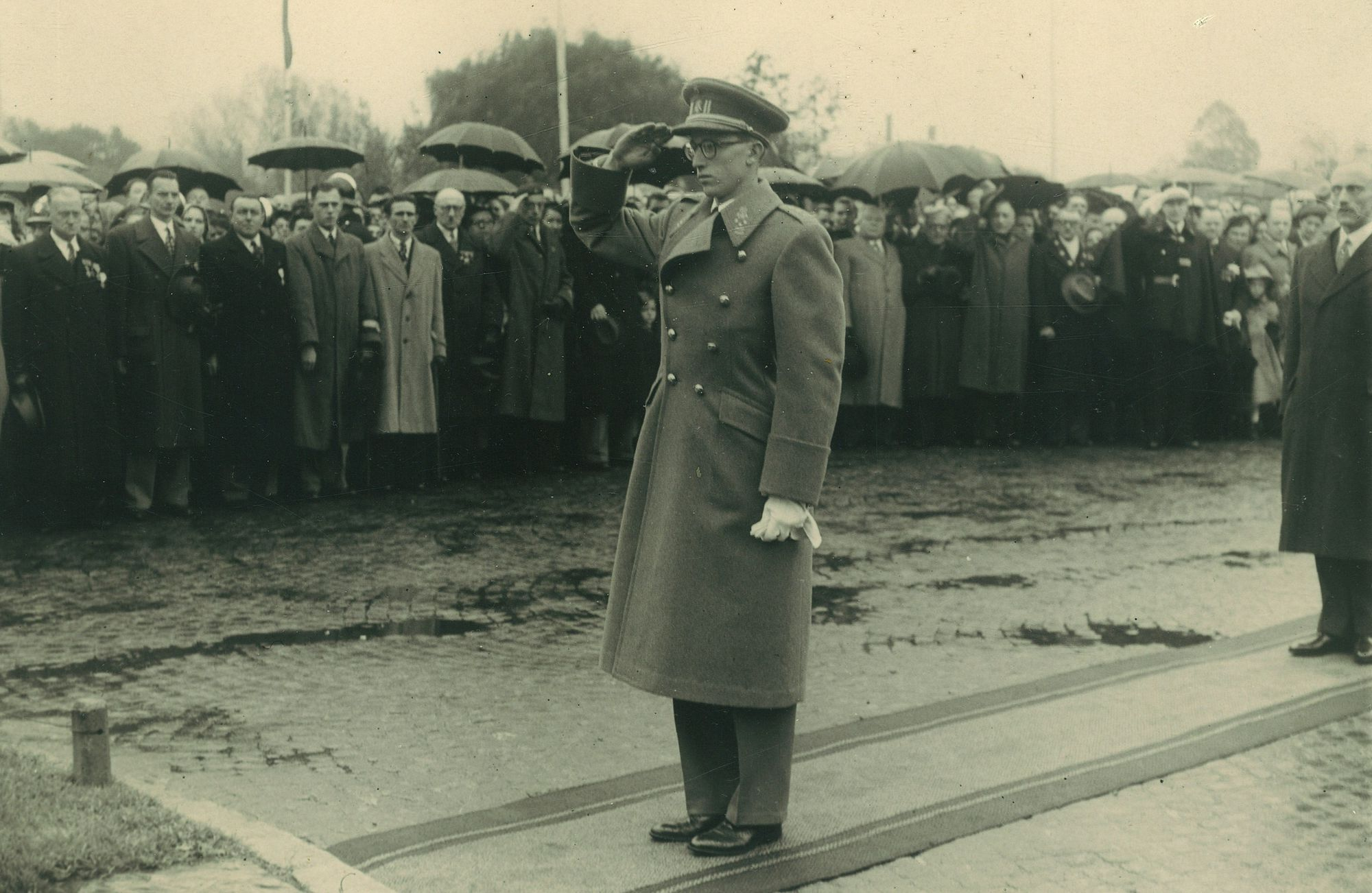 Huldiging oudstrijders 1940-1945