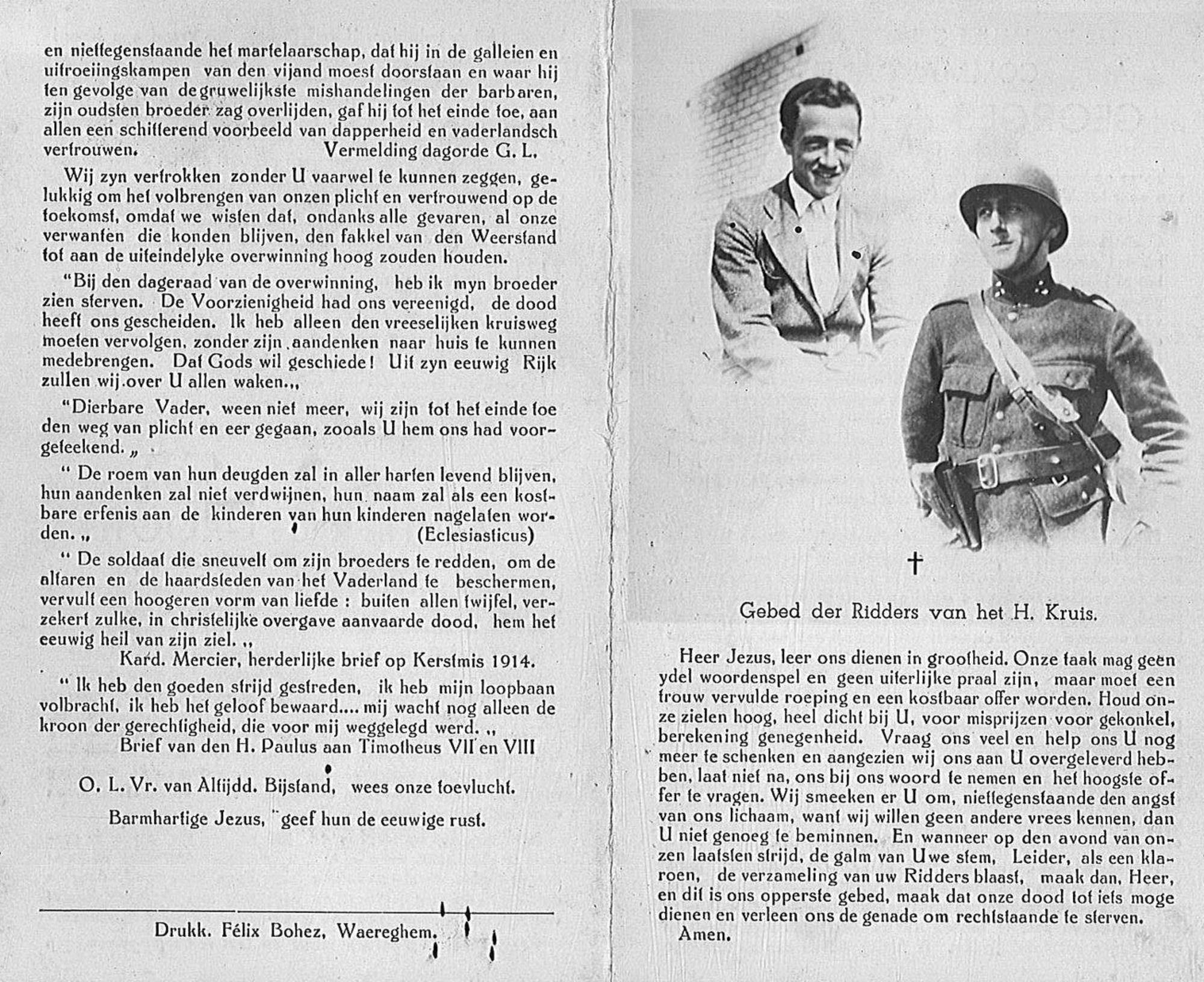 Georges en Gauthier de Groote