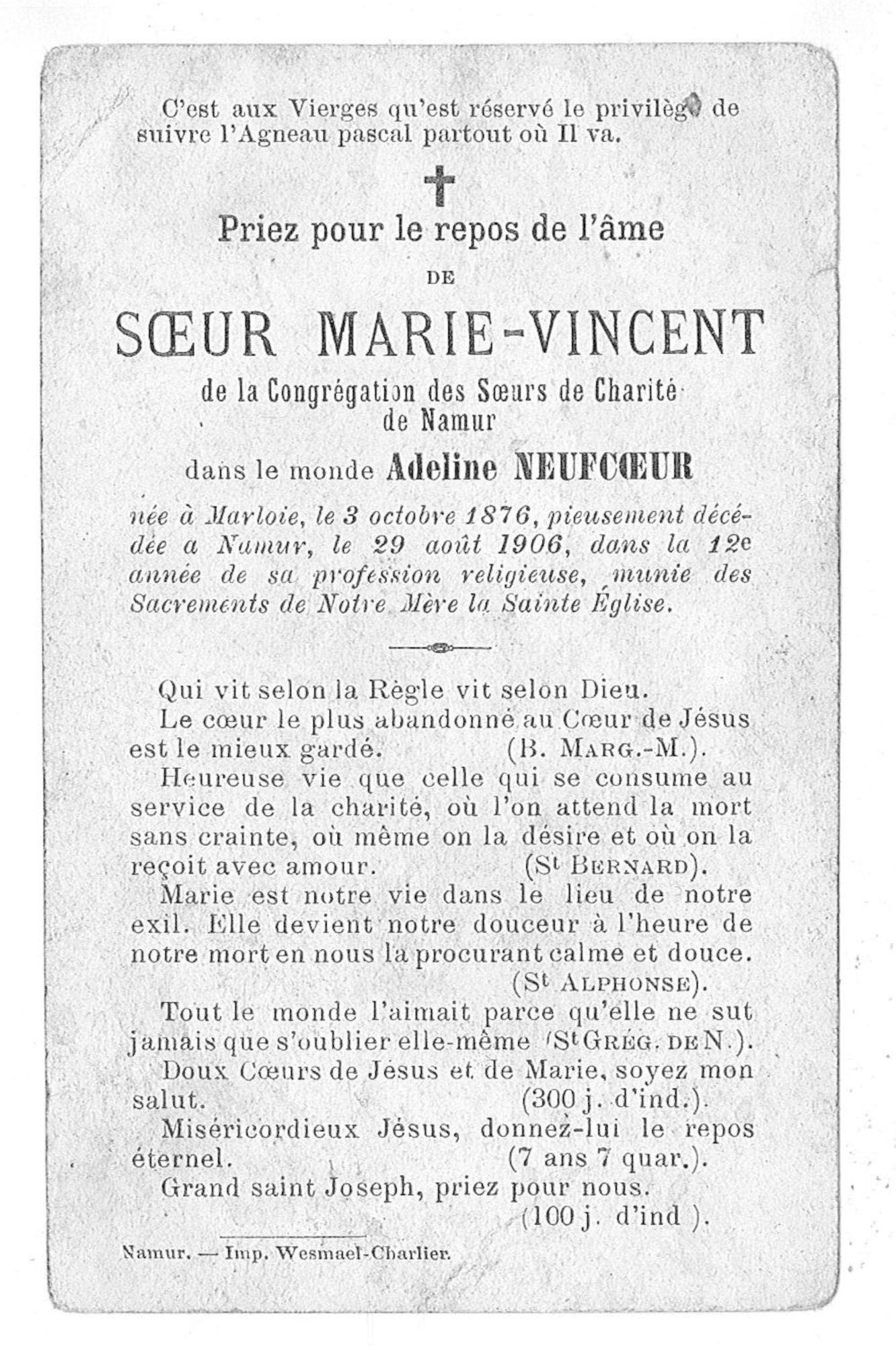 Adeline Neufcoeur