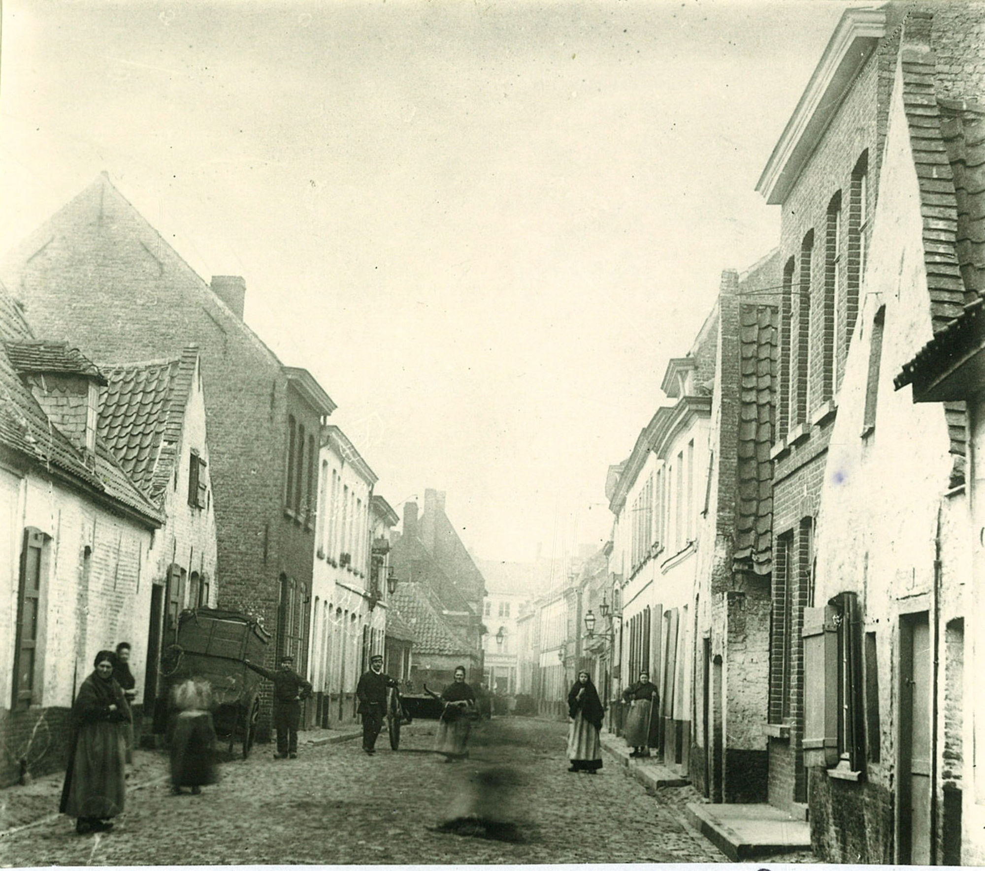 De Couckestraat, nu Sint-Amandslaan