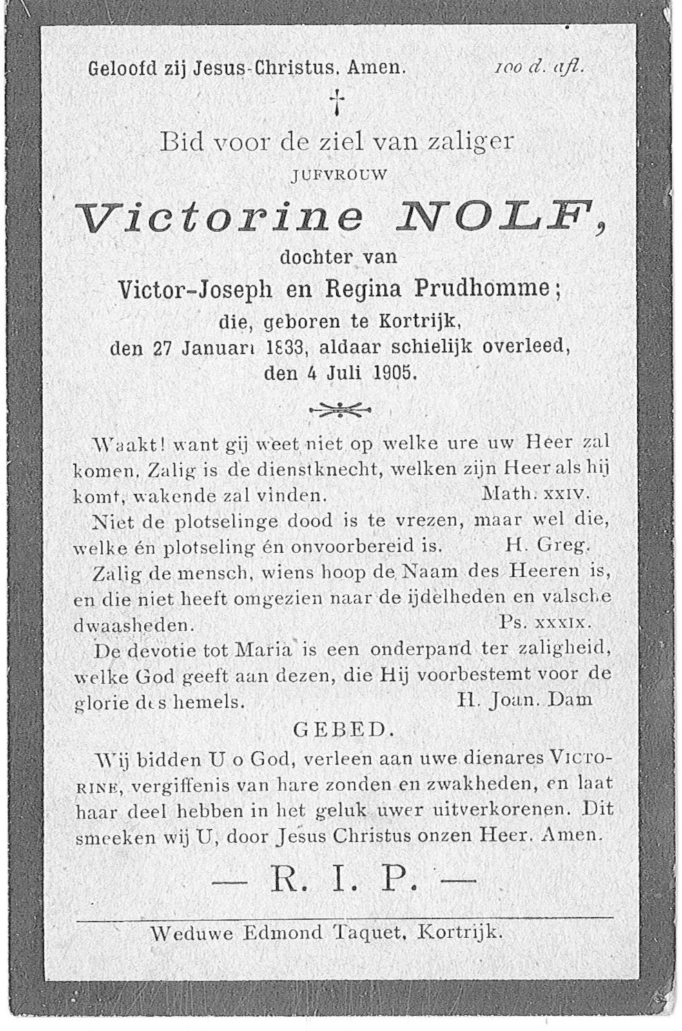 Victorine Nolf