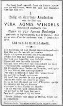Vera Agnes Windels