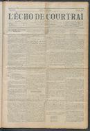 L'echo De Courtrai 1914-04-30