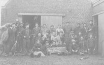 Vlaswerkers fabriek Henri-Delcour-Declercq anno 1910