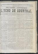 L'echo De Courtrai 1873-05-15