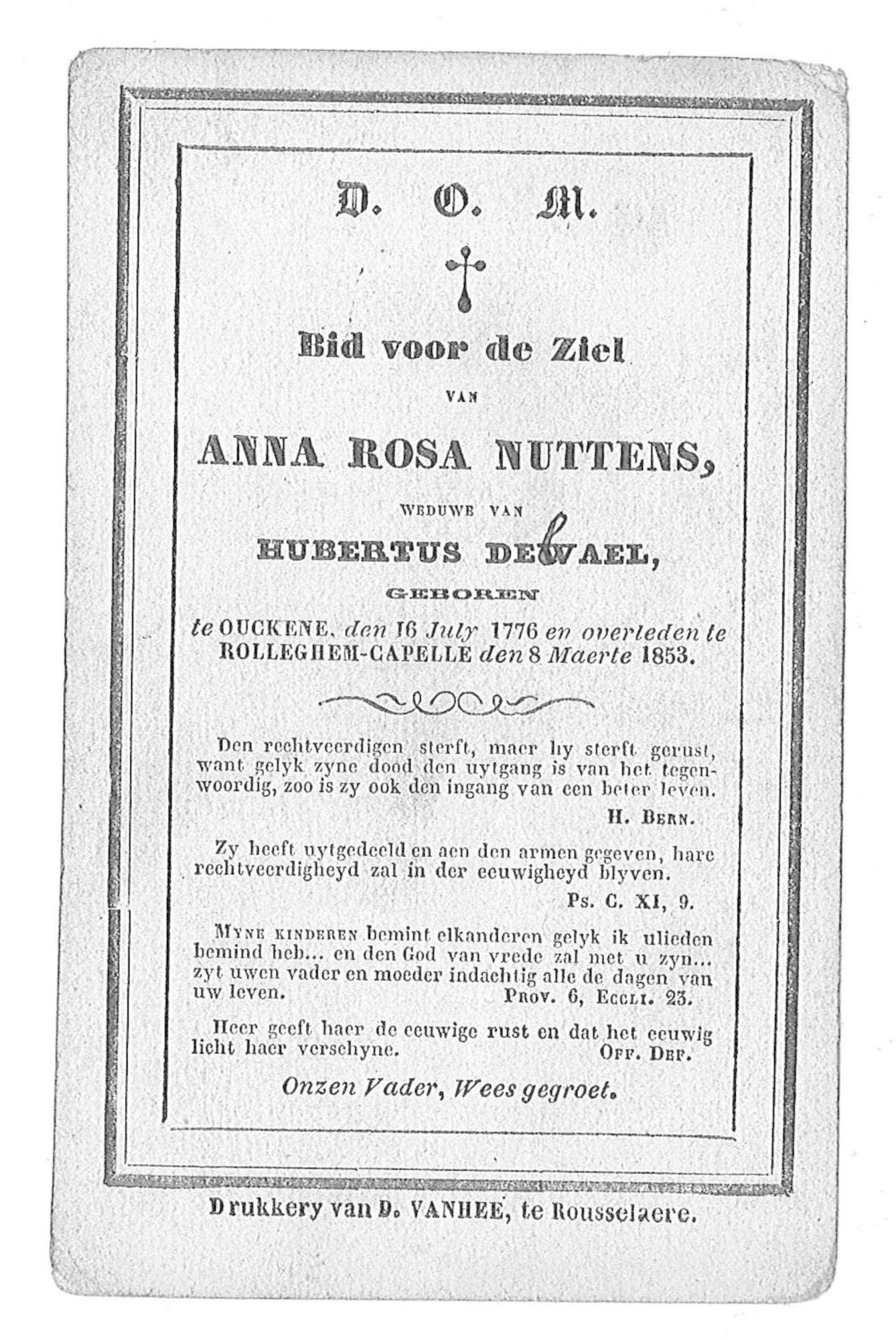 Anna-Rosa Nuttens