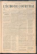 L'echo De Courtrai 1901-08-11