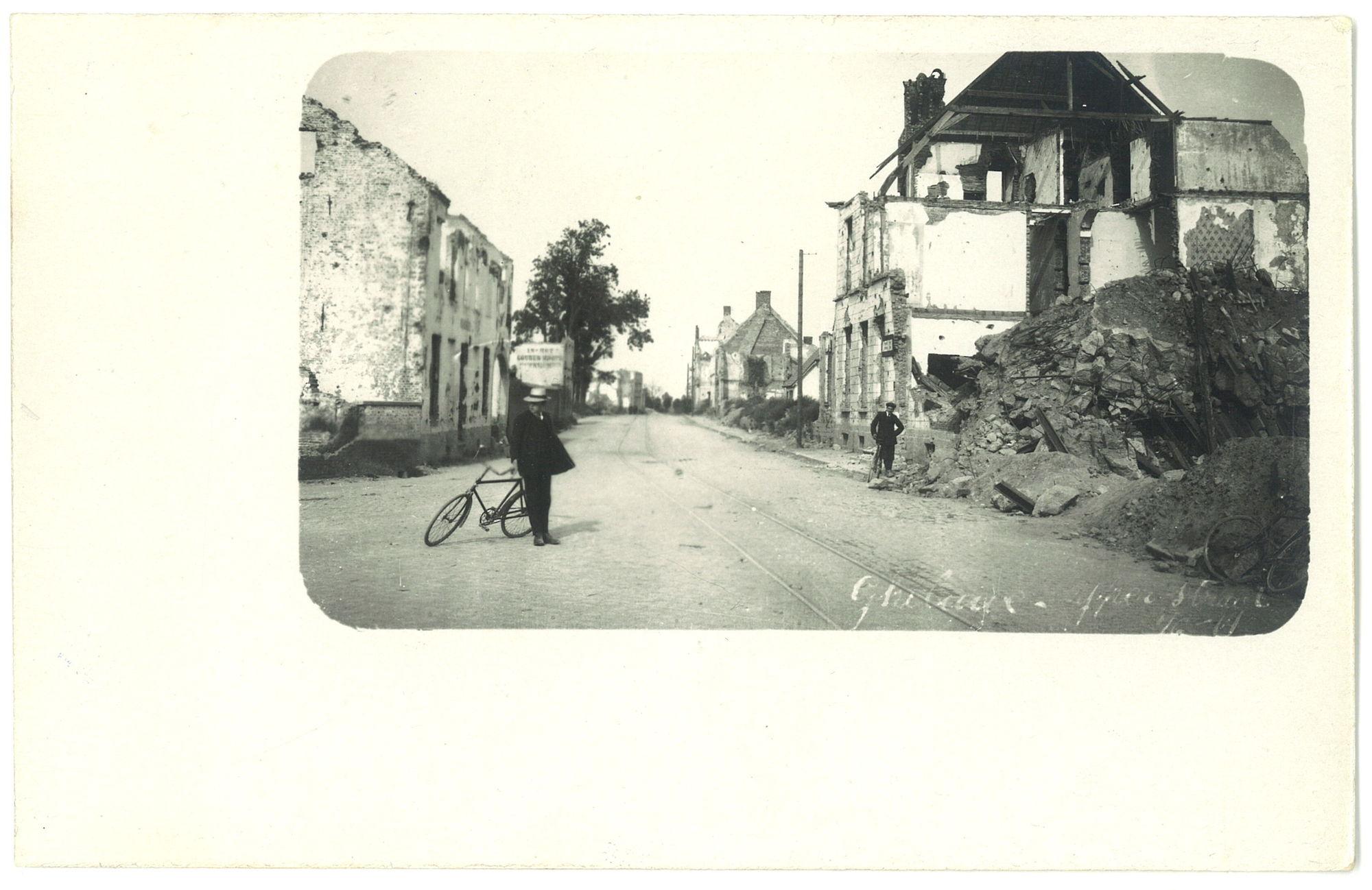 Geluwe in 1919