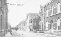 Kerkstraat Marke anno 1910