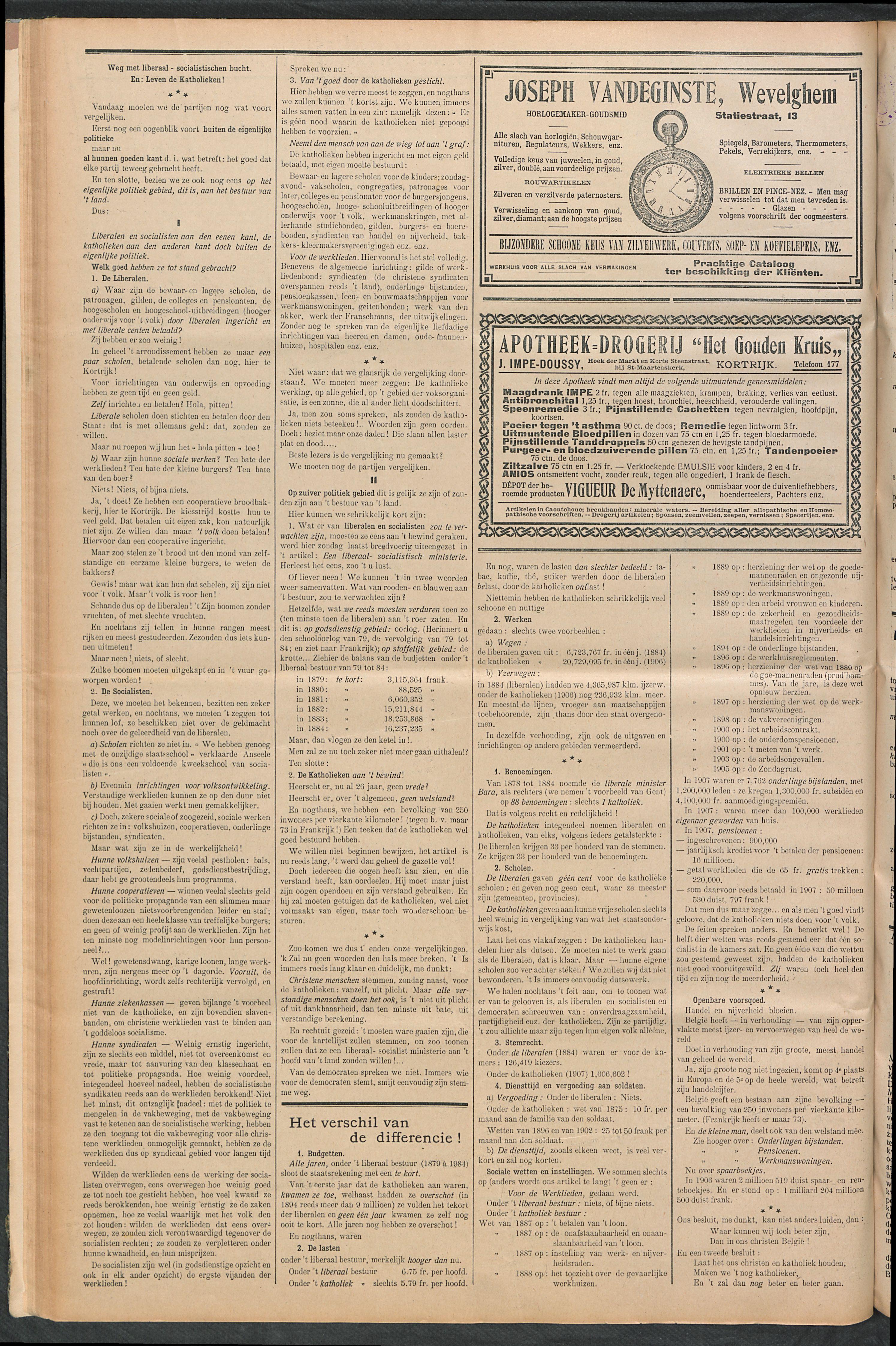 Het Kortrijksche Volk 1910-05-15 p6