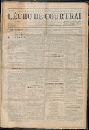 L'echo De Courtrai 1914-03-22