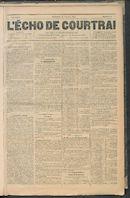 L'echo De Courtrai 1889-01-27
