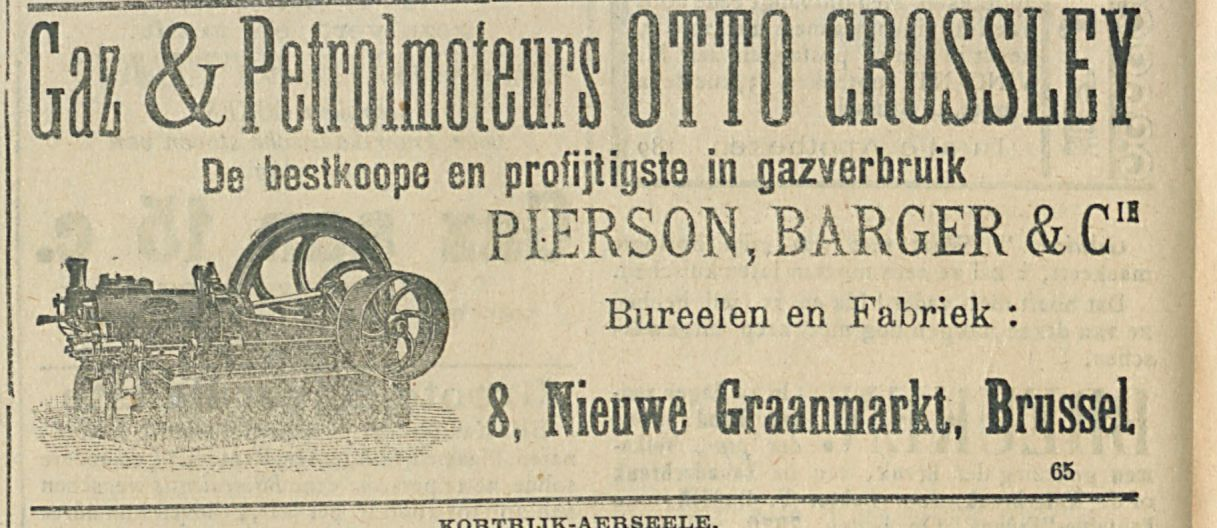 GAZ AND PETROLMOTEURS OTT CROSSLEY