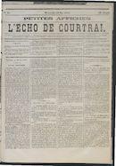 L'echo De Courtrai 1875-05-23