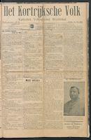 Het Kortrijksche Volk 1914-05-24 p1