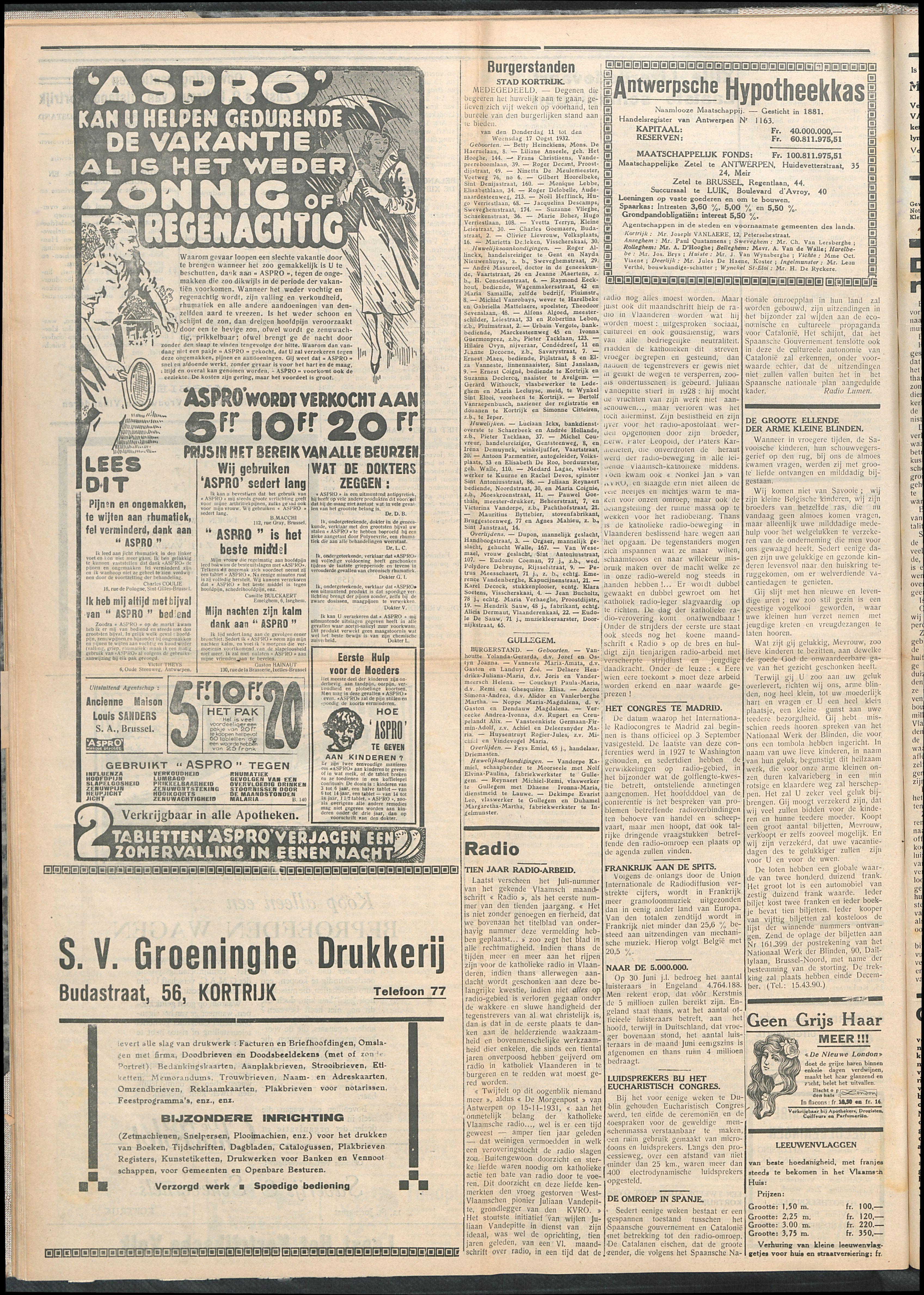 Het Kortrijksche Volk 1932-08-21 p4