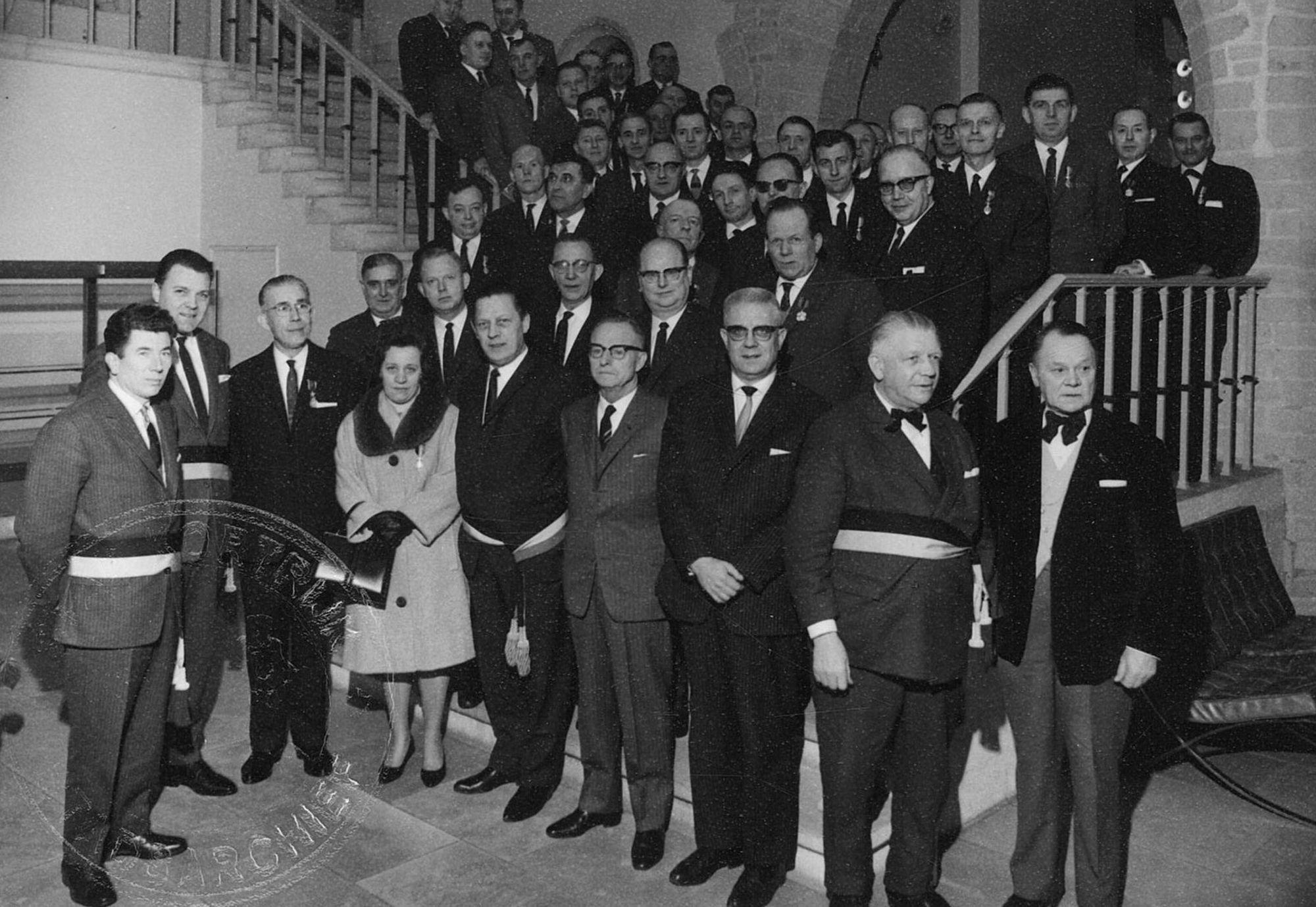 Burgemeester Lambrecht 1966