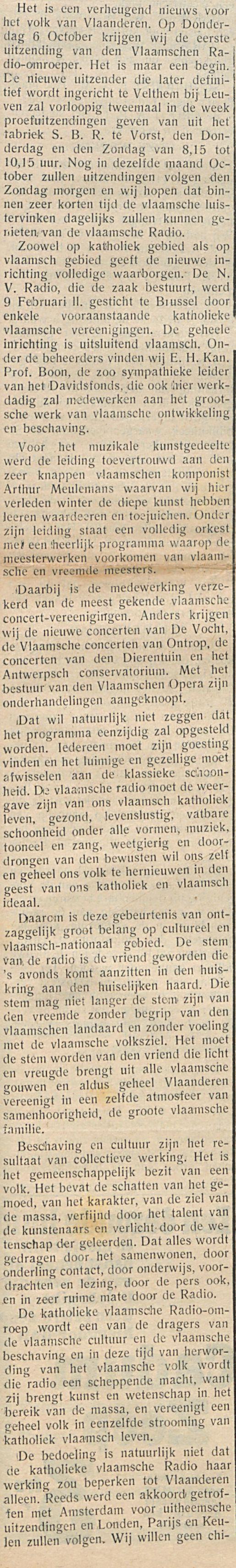 Vlaanderen heeft zijn Katholieke-1