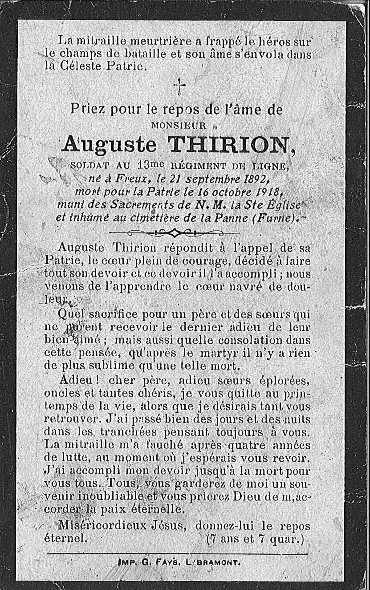 Auguste Thirion