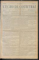 L'echo De Courtrai 1910-08-04