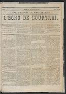 L'echo De Courtrai 1873-11-27
