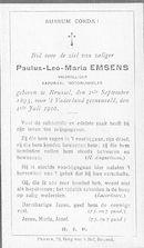 Paulus-Leo-Maria Emsens