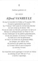 Alfred Vanheule