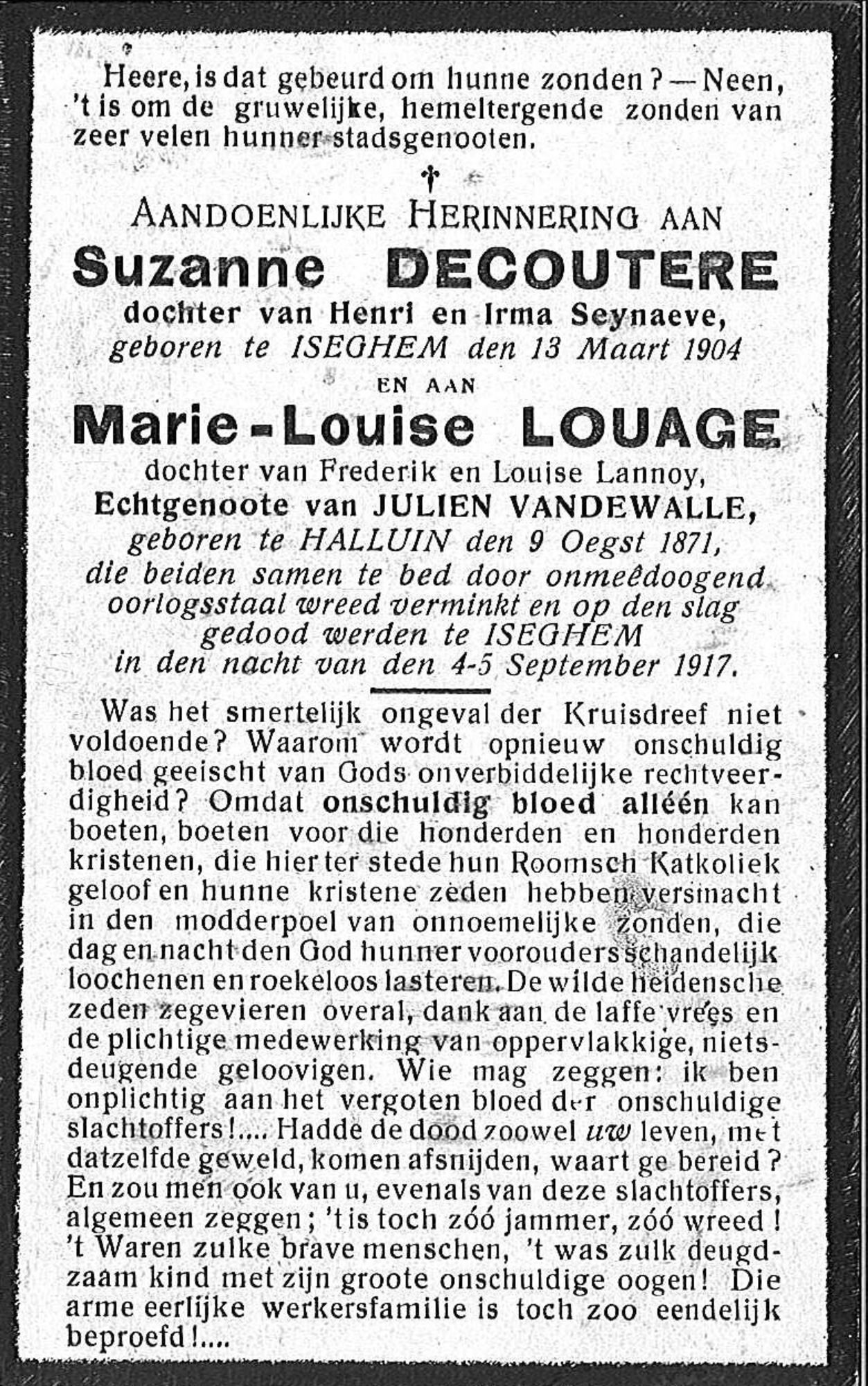 Suzanne Decoutere