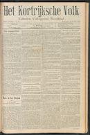 Het Kortrijksche Volk 1910-09-25