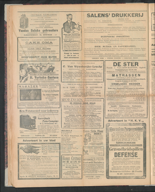 Het Kortrijksche Volk 1923-09-16 p4