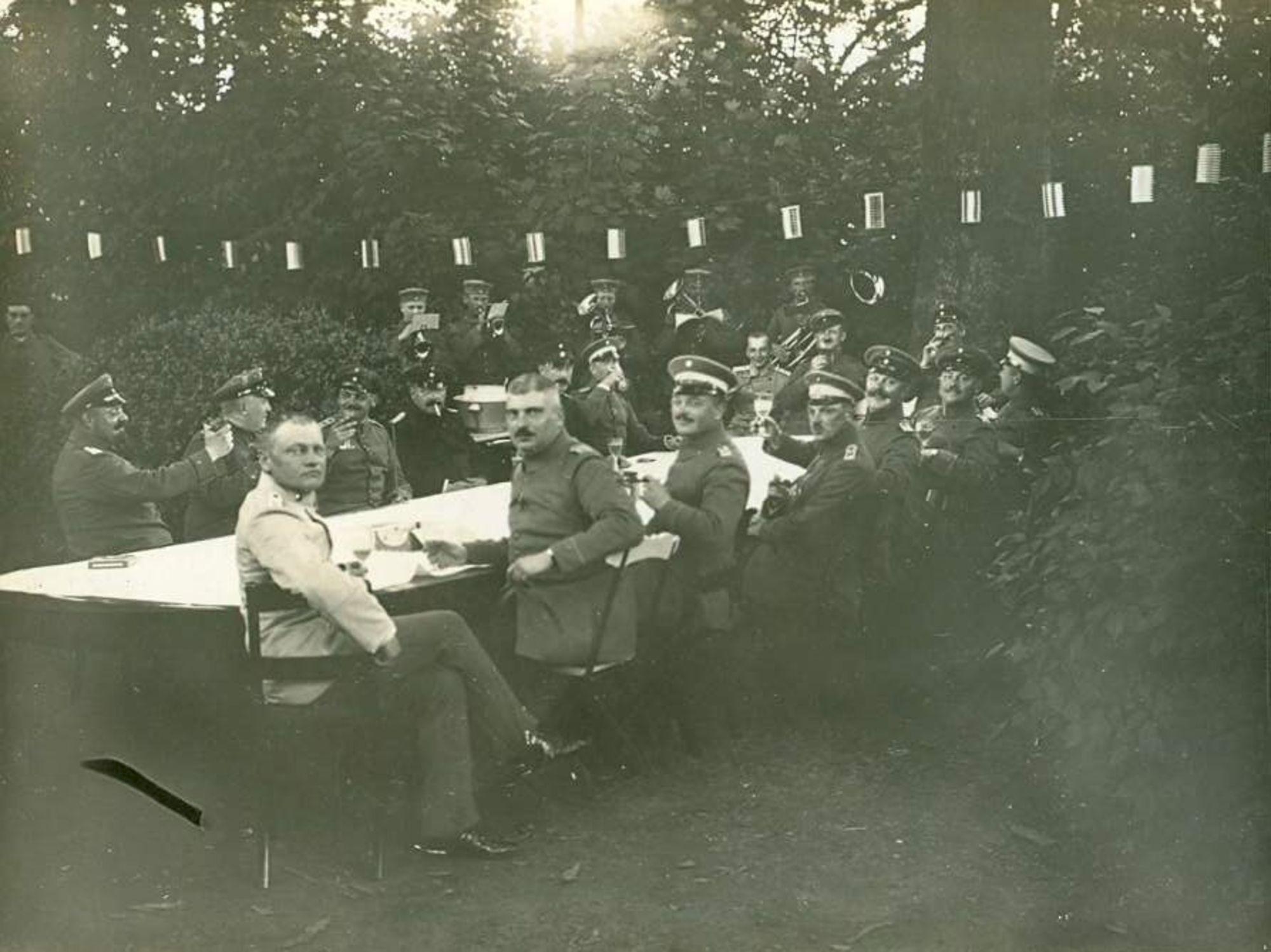 Kasteel van Marke in 1915
