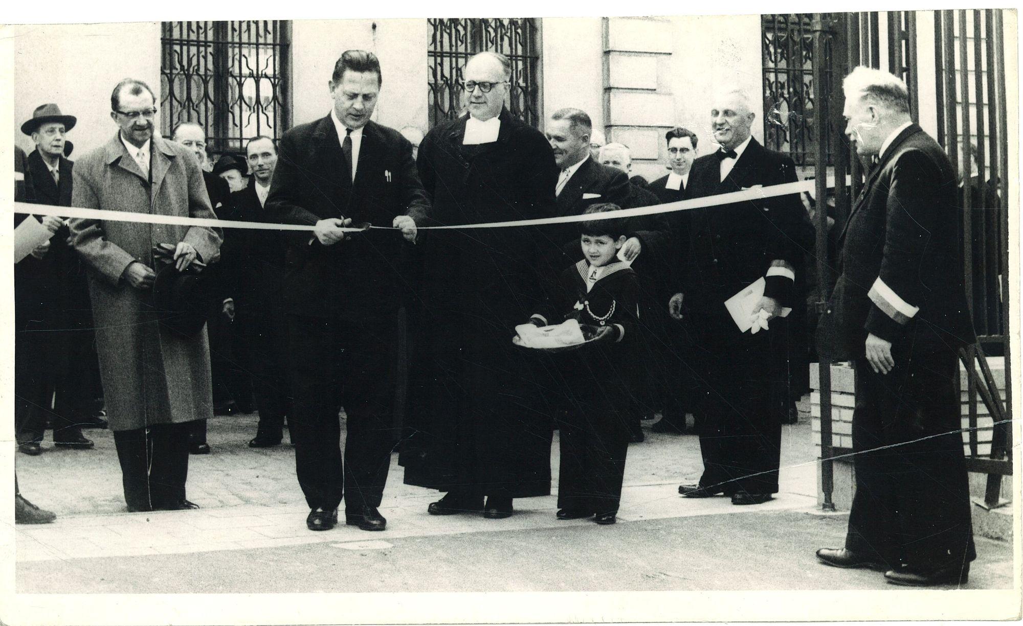 Plechtige opening nieuwe klaslokalen Sint-Jozefsinstituut