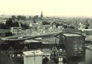 Panoramisch zicht van Kortrijk
