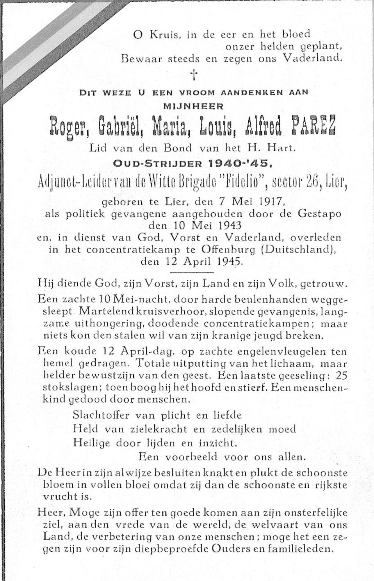 Parez Roger-Gabriël-Maria-Louis-Alfred