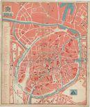 Westflandrica - Brugge, kaart van de stad